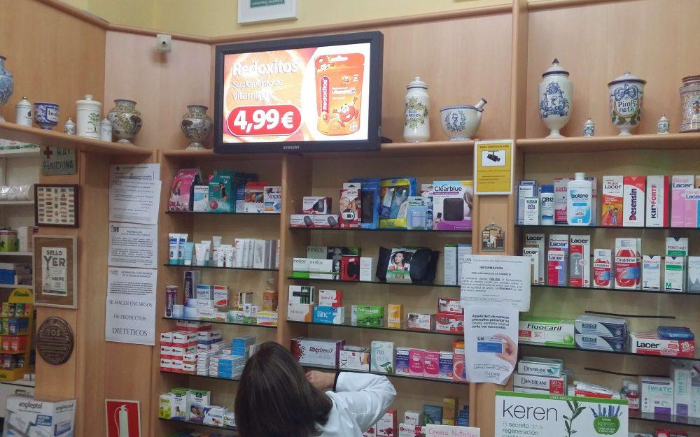 carteleria digital tiendas